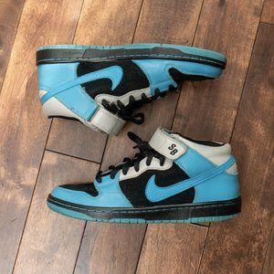 Nike SB - Dunk Mid Pro - Aqua Fuel Blue